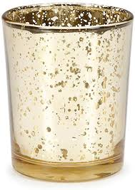 Golden Balsam - Organic Holiday Glass Votive