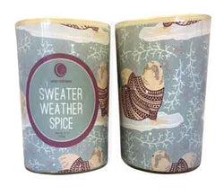 Sweater Weather - Glass Tumbler
