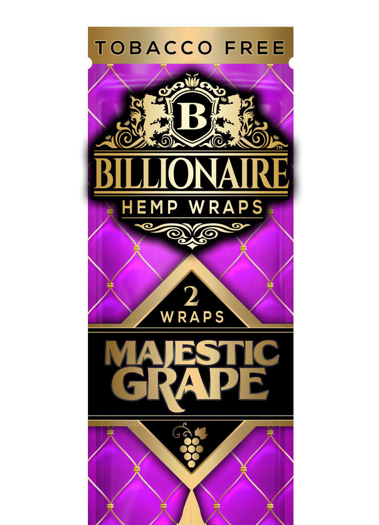 Majestic Grape - Billionaire Hemp Wraps