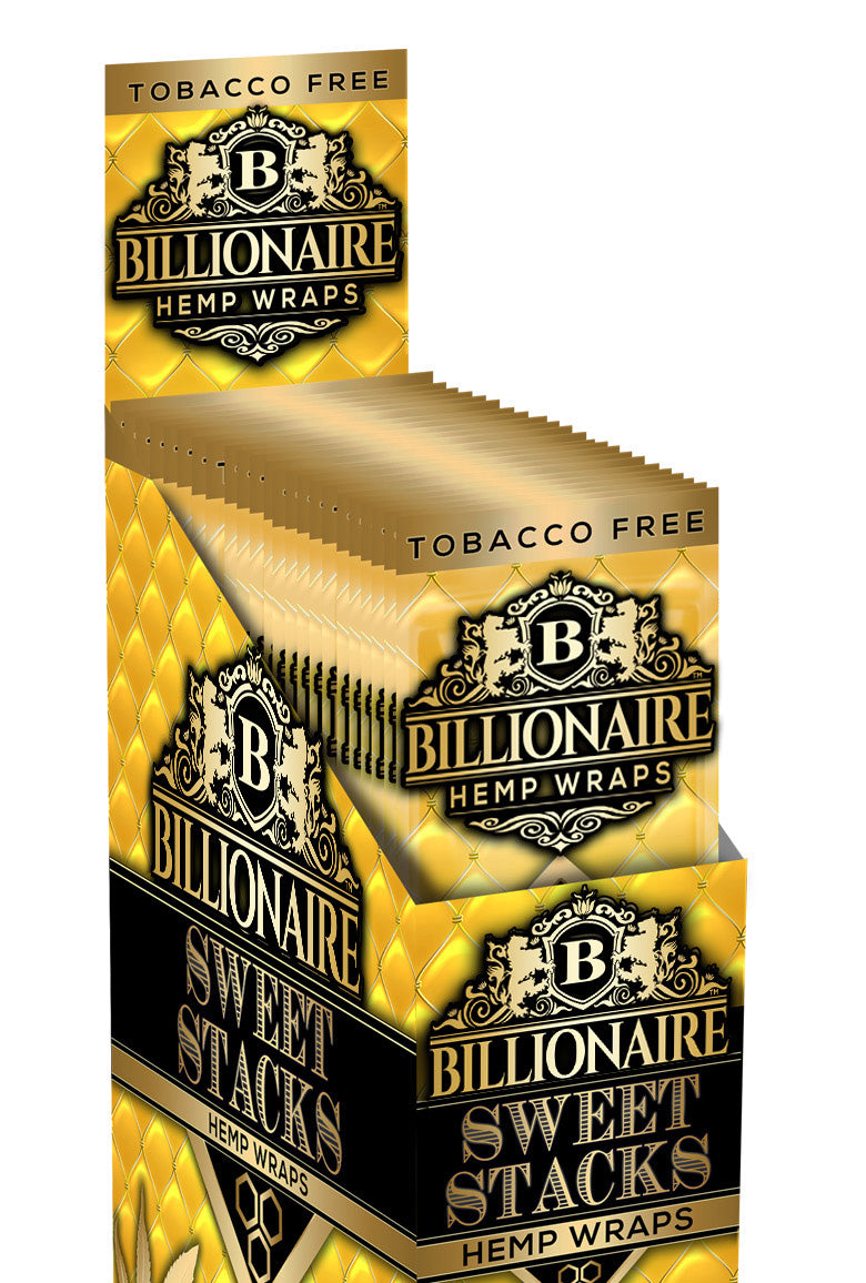 Sweet Stacks - Billionaire Hemp Wraps