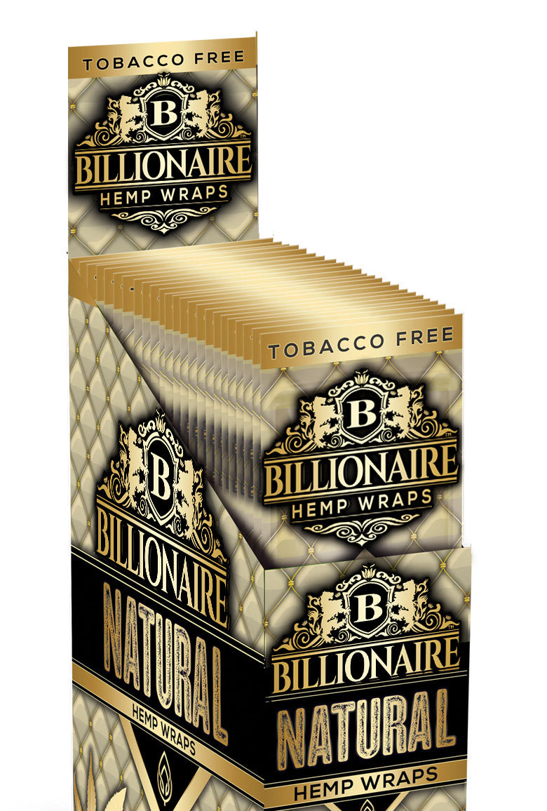 Natural - Billionaire Hemp Wraps