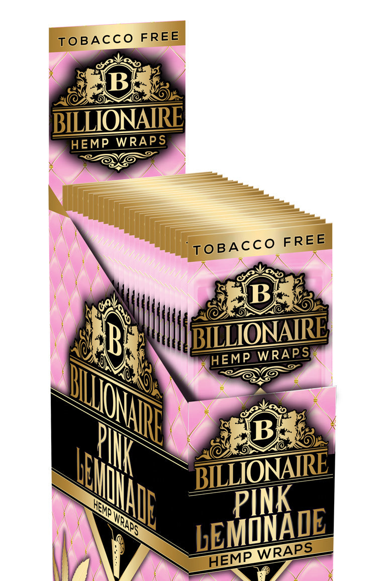 Pink Lemonade - Billionaire Hemp Wraps