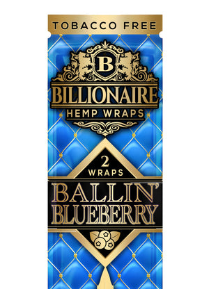Ballin' Blueberry - Billionaire Hemp Wraps