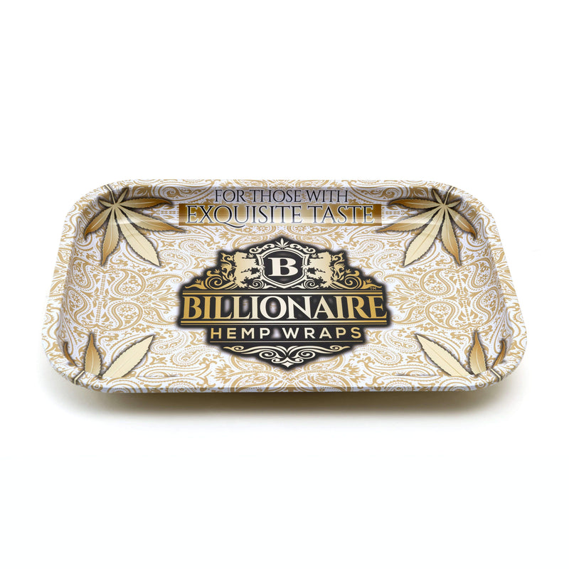 BILLIONAIRE HEMP WRAPS – Medium Rolling Trays