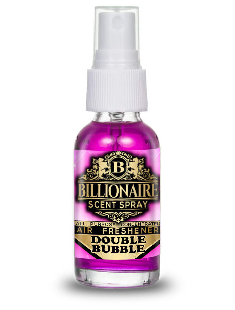 Double Bubble - Billionaire Scent Spray Air Freshener