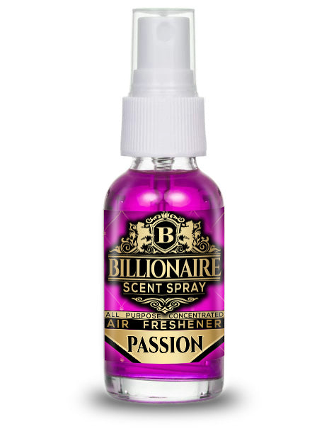 Passion - Billionaire Scent Spray Air Freshener