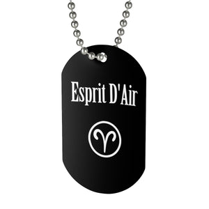 Aries Necklace Tag - esprit-dair