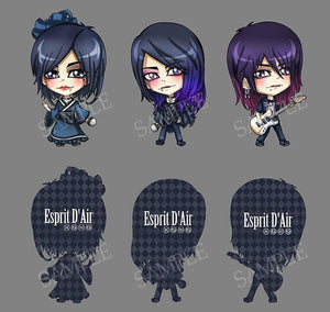 Chibi Kai Special Edition Keychains