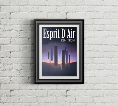 Ignition Poster - esprit-dair