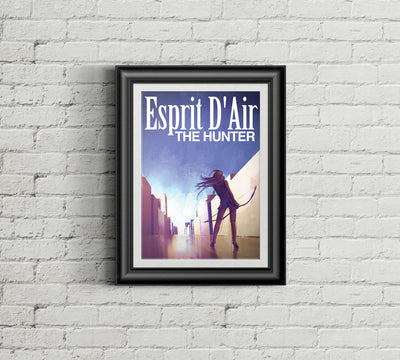 The Hunter Poster - esprit-dair