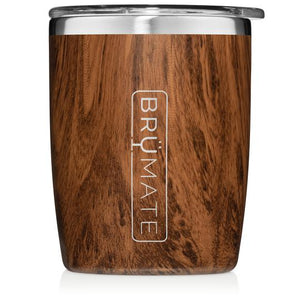 Walnut BrüMate Rocks Tumbler 12oz