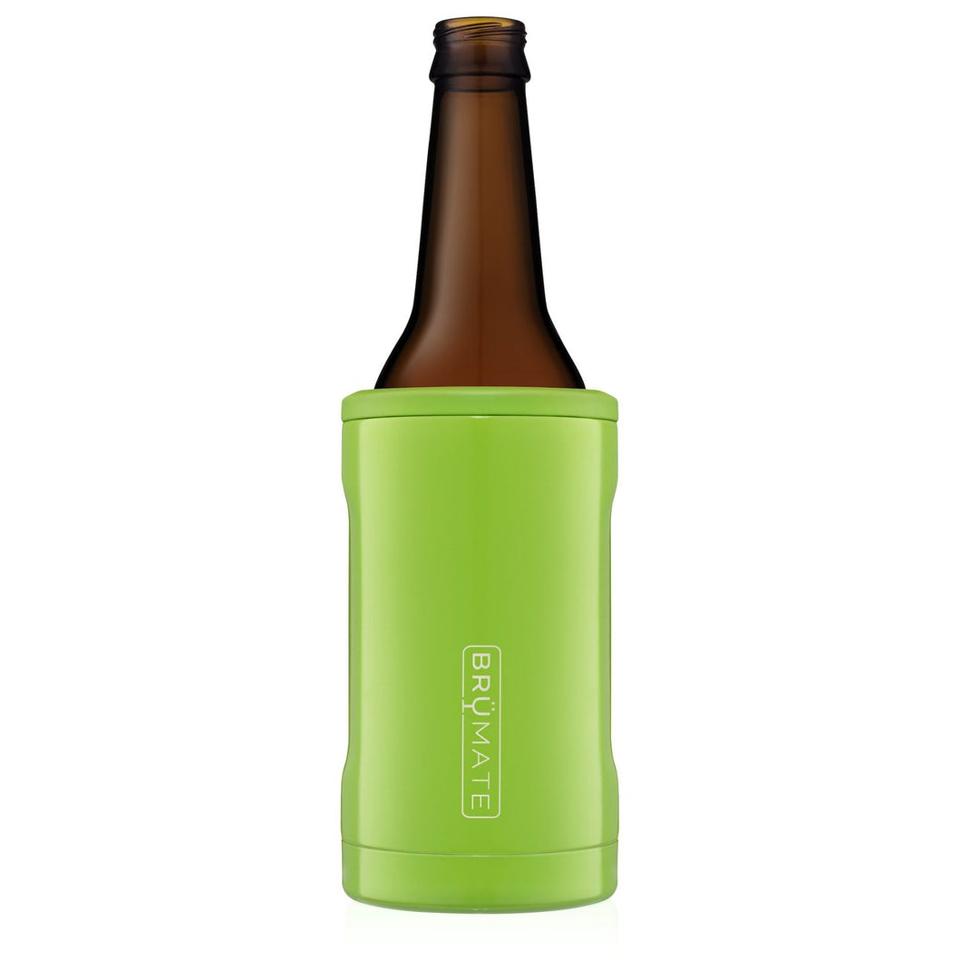 Electric Green Brumate Hopsulator Bott'l (12OZ BOTTLES)