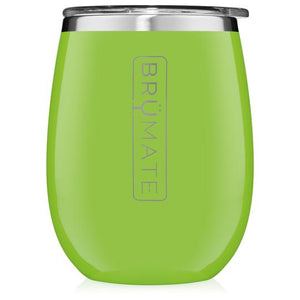 Electric Green Brumate Uncork'd XL 14oz Wine Tumbler