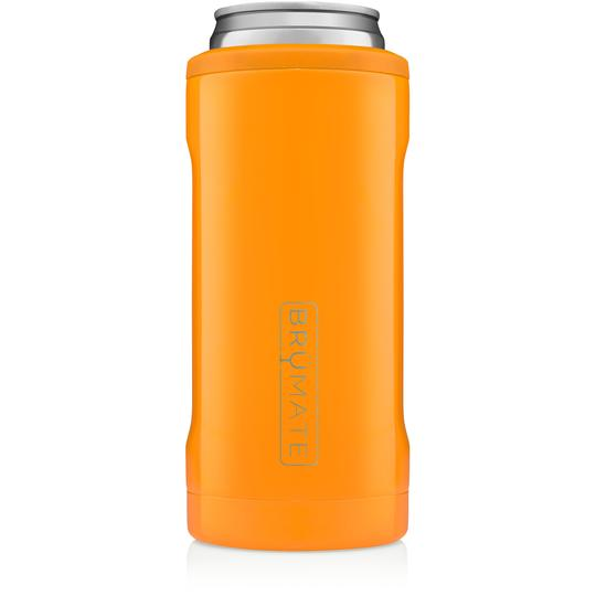 Hunter Orange Brumate Hopsulator Slim 12oz Slim Cans