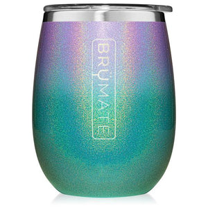 Glitter Mermaid Brumate Uncork'd XL 14oz Wine Tumbler