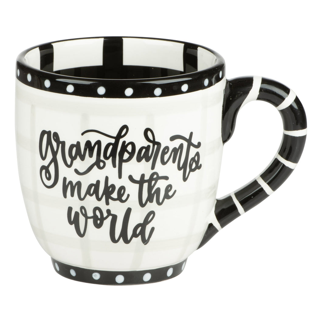 Grandparents Make The World Better Mug