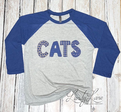 Kentucky CATS Raglan Tee