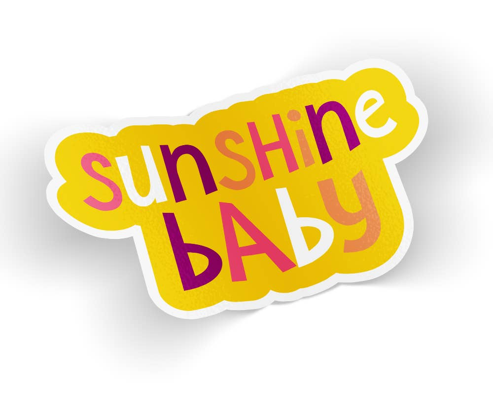 Sunshine Baby Sticker