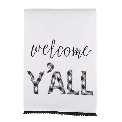 Welcome Y'all Tea Towel