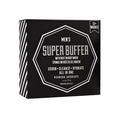 Spongelle Mens Super Buffer