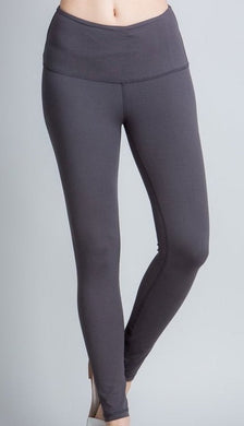 Buttery Soft Full Length Leggings in Charcoal