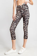 Load image into Gallery viewer, Buttery Soft Capri Leggings in Animal Print