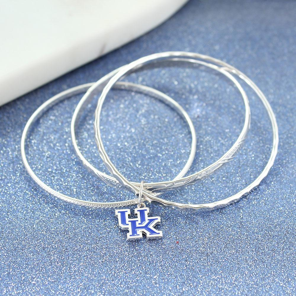 Kentucky Logo Bangle Bracelets