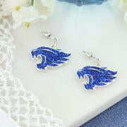 Load image into Gallery viewer, Kentucky Wildcats Crystal Logo Earrings