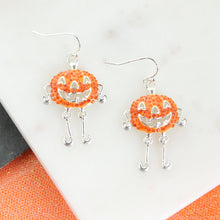 Load image into Gallery viewer, Jack-O-Lantern Earrings
