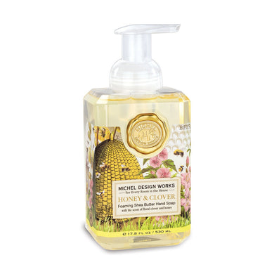 Honey & Clover Foaming Hand Soap By Michel Design Works