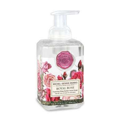 Royal Rose Foaming Hand Soap By Michel Design Works