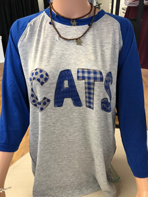 Kentucky CATS Unisex Raglan