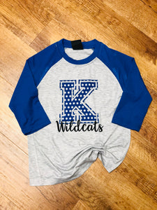 Youth Kentucky Unisex Raglan