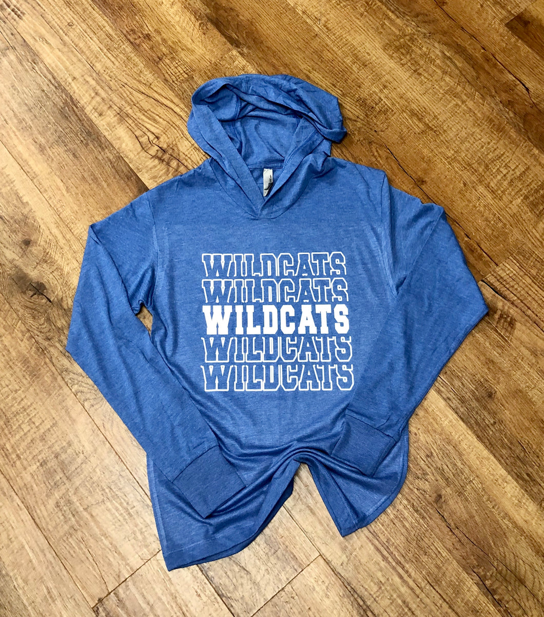 Wildcats Unisex Hooded Tee
