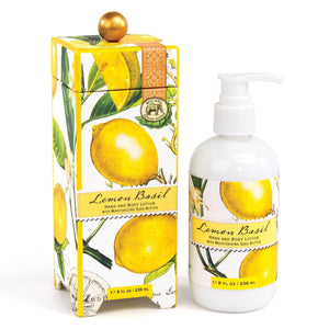 Lemon Basil Hand And Body Lotion