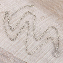"Load image into Gallery viewer, 30"" Silver Chain with 2"" Extender"
