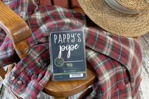 Pappy's Pipe Large Fragrance Melt