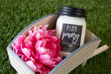 Load image into Gallery viewer, Farmhouse Collection Mason Jar Candle 13oz - Pink Peony