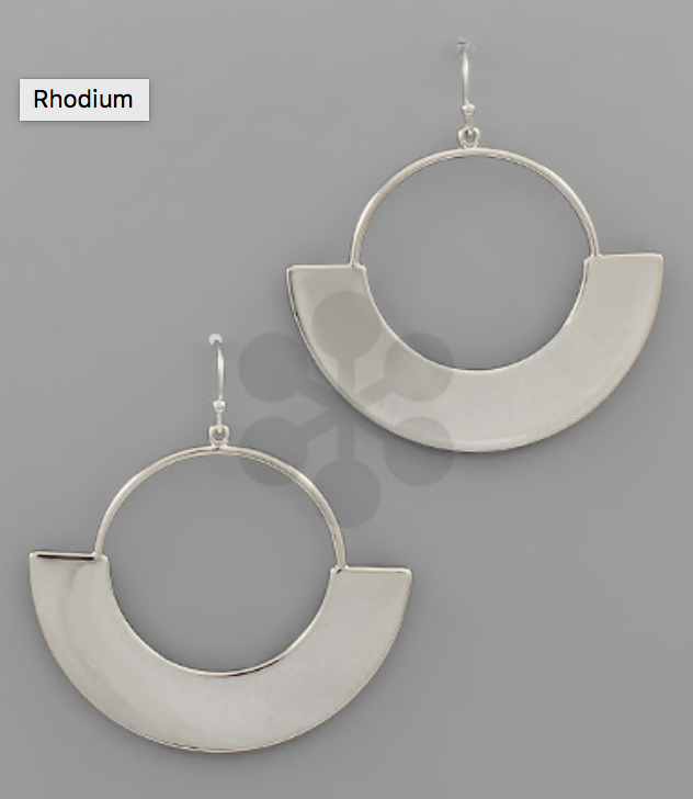 Round Arch Earrings