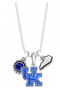 Kentucky Logo Charm Necklace