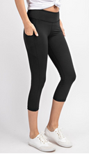 Load image into Gallery viewer, Buttery Super Soft Capri length Yoga Pants with Pockets