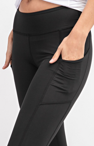 Buttery Super Soft Capri length Yoga Pants with Pockets