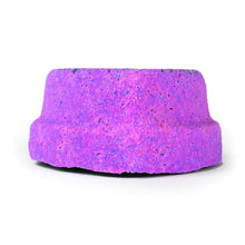 Load image into Gallery viewer, Large Surprise Bath Bomb Light Up Glitter Purple Heart