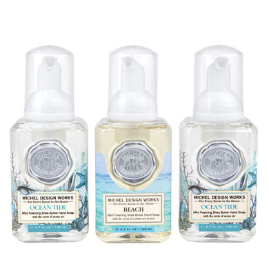 Mini Foaming Hand Soap Set In Beach and Ocean Tide