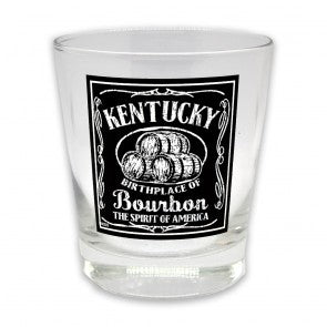 Kentucky Birthplace Of Bourbon Shot Glass