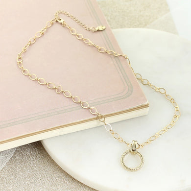 "18"" Gold Chain Necklace"