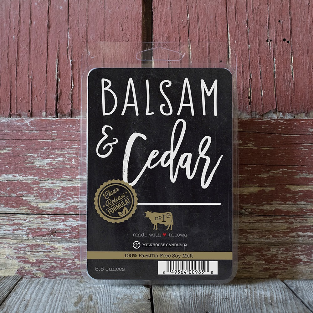 Balsam & Cedar Large Fragrance Melt