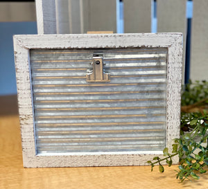 Farm Chic Hanging Photo Clip Frame In Two Colors