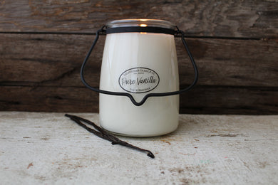 Pure Vanilla- 22-Ounce Butter Jar Candle