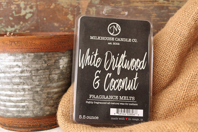 Creamery Collection White Driftwood & Coconut Fragrance Melt